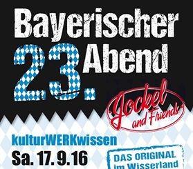 Flyer Bayerischer Abend